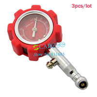 Wholesale New HOT Automatic Car Dial Tire Tyre Air Pressure Gauge High Precision Pressure Monitor Drop shipping