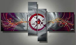 Wholesale Price HEAT pc NEW MODERN ABSTRACT HUGE WALL ART OIL PAINTING ON CANVAS No frame