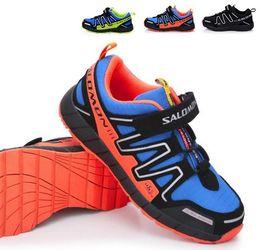 Wholesale Brand New Salomon Child Sport Shoes Children Athletic Shoes Children s Sneakers Running Shoes Kids Shoes Color EU