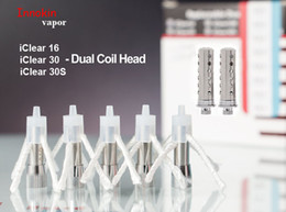 Original Innokin iClear 16 iClear 30 iClear 30S Dual Coil Head Atomizer Core fit Innokin iClear 16 Atomizer iClear 30 30S Tank Clearomizer