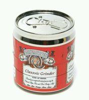 Wholesale pop can grinder tobacco layer mm smoking metal pipe hookah shisha sneak a toke diversion discreet grinder click n vape