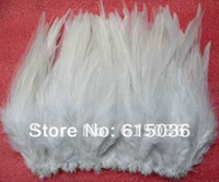 Wholesale Hot sale promotion white short cm ROOSTER SADDLE CAPE CRAFT FEATHER for sinamay hat party mask