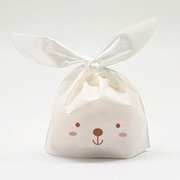 rabbit Party Packaging,Plastic Cookie Bags,Gift Wrapping Bag,Snack Bag, Candy bag,Handmade Baking packaging