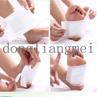 Wholesale 10 pc Detox Foot Pads Patch Detoxify Toxins Adhesive health beauty care New Patches Adhesives O Z24