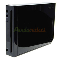 Wholesale Full Replacement Housing Case with Screws for Wii Console Black sku
