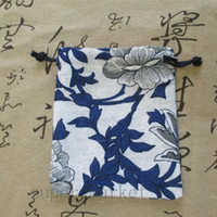 Wholesale Crystal Jewelry Pouches Bags Jade Porcelain Chinese Style Candy Bags