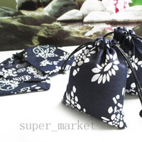 chinese bags - Blue and White Porcelain Chinese Style Bags Candy Gift Bags Cotton Jewelry Pouches