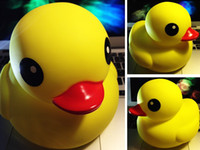 Big Kids happy - HK Happy Animal Big Yellow Duck Small Ducks Baby Infant Shower Bath Sound Production Toy Children s Toys F0142