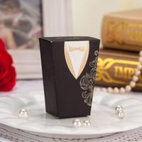 boxes for wedding dress - 120 Tuxedo Dress Design Chocolate Gifts Candy Favors Boxes for Wedding Ceremony Party