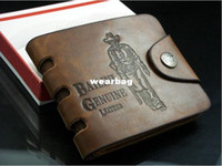 bailini genuine leather - Bailini new stylish Men wallet genuine cow Leather Pockets RFID Card Clutch Cente Bifold Purse dropshipping