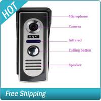 Wholesale SY803M11 Inch Video Door Phone Doorbell Intercom Kit camera monitor Night Vision
