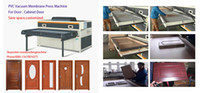 Wholesale Vacuum Thermoforming Press machine wood door cabinet making machine press pvc on mdf board laminating press machine
