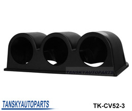 Wholesale Universal Car Black quot mm Triple Hole Dash Gauge Pod Mount Holder ABS Have In Stock TK CV52