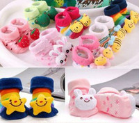 Wholesale Newborn Socks Baby Kids Infant Shoes Anti slip Toddler