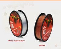 Wholesale 2pcs m nylon fishing line Hot sale multiple size and colors top quality line tackle YX002