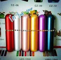 mini perfume atomizer - High quality Travel Perfume Atomizer Refillable Spray Empty Bottle cosmetic mini perfume atomizer supply