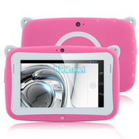 Wholesale Kids Pre school Tablet PC Inch Dual Core RK2926 Android MB RAM GB ROM WIFI Dual Camera MINI Tablet With Eduactional APP