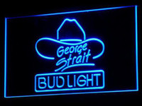 Wholesale a116 b Bud Light George Strait Bar Pub Neon Light Signs