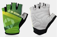 Wholesale 2014 Hot sale cycling Net cloth half finger gloves bike gloves breath freely IF215 from womens world