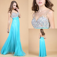 Best selling crystal prom dresses 2014 Sexy Inspired Beaded ...
