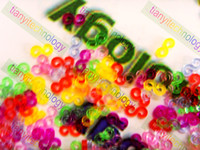 Wholesale Colorful Plastic S Clips C Clips For Rainbow Loom DIY Bracelet Ring Necklace Making