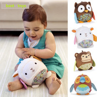 Unisex 8-11 Years Multicolor Owls, bears, sheep, monkey, dog Brand sheep toy, baby toys, bed hanging & Sound Toy