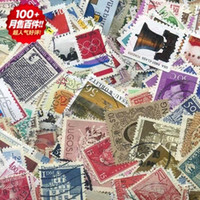 Cheap Mix 300pcs real foreign used letter postage stamp collection discount souvenir funny gift wholesale, old vintage postmark ink stamps postal