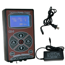 Wholesale 2014 Digital Tattoo Power Supply LCD Power CX For Professional Tattoo Machine Kits Pop