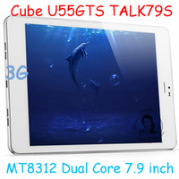 Under $200 Cube 7.9inch Cube U55GTS Talk79s 7.9 inch Tablet PC MTK8312 Dual Core Android 4.2 Bluetooth GPS FM GSM 3G WCDMA Phone Call 8.0MP From Imgirl