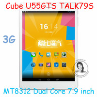Under $200 Cube 7.9inch Cube U55GTS Talk79s 7.9 inch 1024x768 Tablet PC MTK8312 Dual Core 1.3GHz Android 4.2 Bluetooth GPS GSM 3G WCDMA 8.0MP Camera From Imgirl