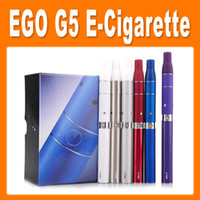 Electronic Cigarette Set Series  Ego G5 Electronic Cigarette with Pen Dry Herb Vaporizers Suit for Liquid Herb Cut tobacco E Cigarette New Style via DHL(86050300620)