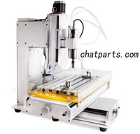Wholesale CNC Axis Engraving Machine Router ColumnBall Screw W Spindle Motor HY