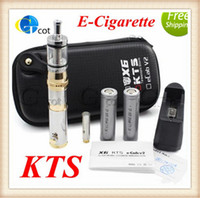 Cheap 2014 New Design KTS Electronic Cigarette GGTS Vision E-Cigarette with x8 atomizer Battery Atomizer great item for your friend and family