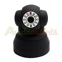 Wholesale Wired and Wireless P T Dome IP Camera with Night Vision Motion Detection