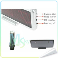 Wholesale Best Quality and Inexpensive led panel running message screen desktop rechargeable Hot Selling Now