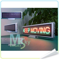 led led message - 10 hot LED Digital desktop display All language Scrolling Message Meeting screen clock display