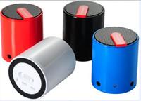 Wholesale 2014 New fashion Small cylindrical bluetooth speakers Super Bass Mini Portable BeatBox Bluetooth Wireless Speaker Handfree DHL Free Ship