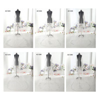 Wholesale Details about Wedding Accessories Cathedral Bridal Veil Ivory T HOT FIX RHINESTONE New Stock