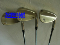 Wholesale Silver color SM5 design golf wedge sand wedges degree with steel shaft