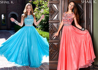 Sublimate Sheath Column Prom Dresses High Neck Floor Length ...