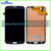 For Samsung Galaxy Mega 6.3 i9200 LCD Screen Panels White and Blue Mega 6.3 LCD Screen Display With Touch Digitizer Full Assembly For Samsung Galaxy Mega 6.3 i9200 LCD Digitizer Touch Screen
