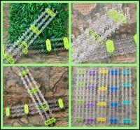 Wholesale 66Pcs Fashion Rainbow Loom Mini Loom Hook Retail For Rubber Bands Bracelet Knitting