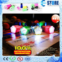 Wholesale HOT Plum keychain led flashlight super bright flashlight mini flashlight M