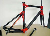 2014 nuevo cuadro de la bicicleta Ciclismo llegada cuadro de la bicicleta de triatlón completo de carbono rojo Impec marco de la bici de carbono 29er marco de bicicleta de carretera