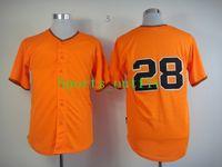 Wholesale 2014 Newest Orange Baseball Jerseys Giants Buster Posey Uniform High Quality Baseball Uniforms Mixed Order Mens Sportswear Hot Sale