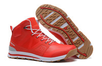 Running best snow shoes - 2014 Hot selling Solomon Outban MID W Running Shoes Best Quality Red Women s High Wool wear resisting Outdoor leisure shoes