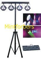 Wholesale 4 BAR Wash Lighting RGBWA colors in one LED Spot Lamp System DJ Diso Show Stage Light DMX