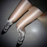 Leggings Skinny,Slim Women European and American Bar DJ nightclub singer Sir ds lead dancer costumes reflective shiny pantyhose