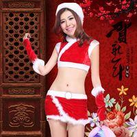 Wholesale Chinese New Year style cheongsam dress sexy nightclub bar girl ds dress costumes Split Year