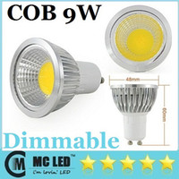 Spotlight COB 9W E27 E26 GU5.3 GU10 COB Led 9W Bulbs Light 120 Angle Warm Cool White 110V 220V Dimmable Led Lights Spot Downlights + CE ROHS UL CUL